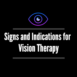 Signs for Vision Therapy Houston